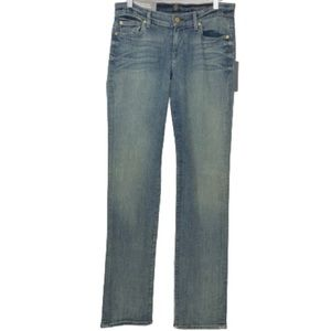 NWT 7 For All Mankind Classic Straight Leg Jeans